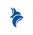 fox logo template vector image vector image