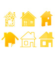 house icon4 vector image vector image