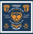 retro motorcycle label badge and design elements vector image vector image