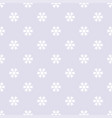 seamless pattern with snowflakes gray white vector image vector image