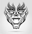 Tribal Mask vector image vector image