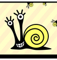 snail or monsters vector image