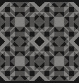abstract graphic black geometric lines pattern vector image vector image