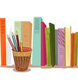 books illustration vector image vector image