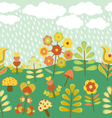 Cute Vintage Seamless Border vector image vector image