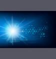 Data security futuristic cyber technology