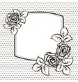 frame template for a card vector image vector image