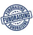 fundraising blue grunge stamp