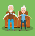 grandparents day design vector image