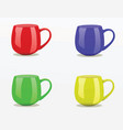 mugs vector image