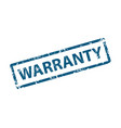 warranty stamp texture rubber cliche imprint web vector image vector image