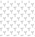 unique digital cocktails seamless pattern with vector image