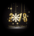 2018 happy new yearmerry christmas congratulate vector image vector image