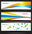 header design vector image vector image
