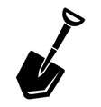 home shovel icon simple style vector image