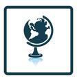 Icon of Globe vector image vector image