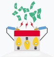 ideas get more money vector image