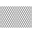 metal wire mesh seamless pattern vector image vector image
