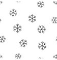 snowflake seamless pattern background business vector image vector image
