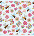 spring pattern 3 vector image vector image