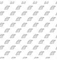 unique digital shells seamless pattern vector image