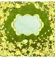 Vintage Floral Pattern Card vector image vector image