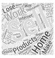 Working at home opportunities are everywhere vector image vector image