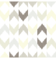 Chevron ikat seamless pattern vector image vector image