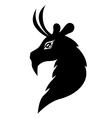 goat symbol vector image