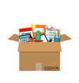moving to new office vector image vector image
