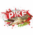 pike vector image vector image