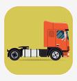 Tractor Unit Icon vector image