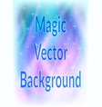 abstract blue and pink background vector image vector image