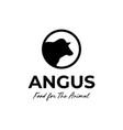 angus farm vector image