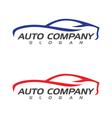 Auto car Logo Template vector image vector image