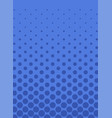awesome vertical card with halftone background vector image