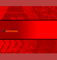 background red texture space vector image vector image