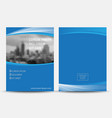 brochure flyer vector image vector image
