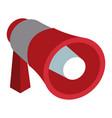 bullhorn advertising symbol 3d