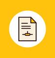 file icon sign symbol vector image