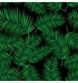 retro exotic tropical vector image vector image