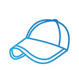 sport baseball cap fashion accessory protection vector image
