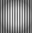 Seamless corrugated silver metal background