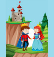 a fairy talke scene vector image