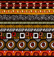 african tribal art traditional africa seamless vector image vector image