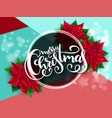 banner with hand lettering vector image vector image