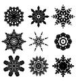 Decorative Snowflakes Set2 vector image