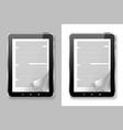 E book set vector image
