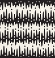 seamless pattern with geometric spots monochrome vector image vector image