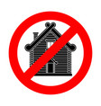 stop russian hut ban russia culture red vector image vector image
